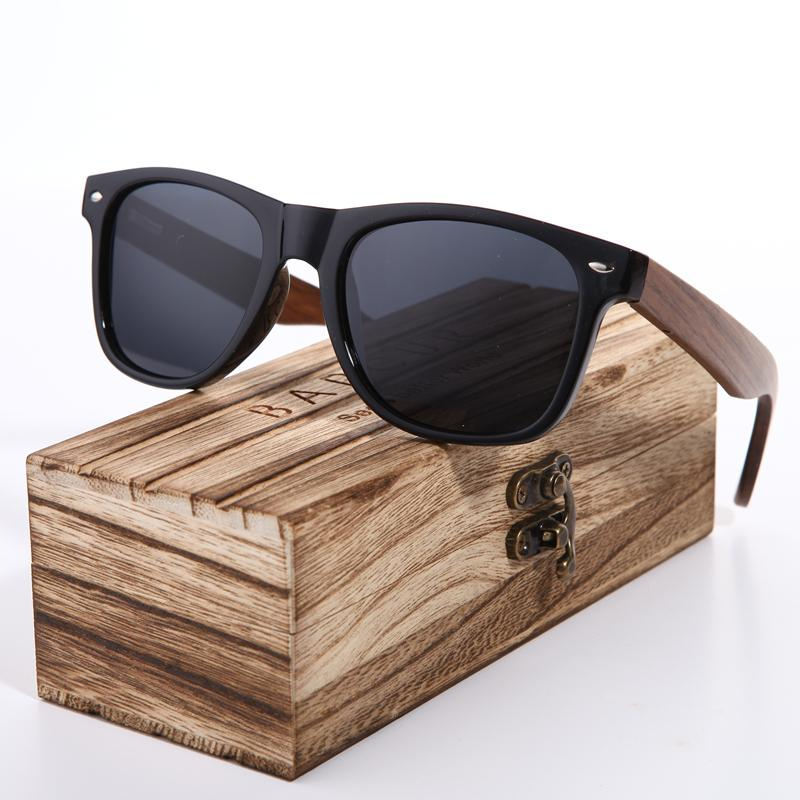 399b65f9c5a BARCUR 2018 Black Walnut Sunglasses Wood Polarized Sunglasses Mens Glasses  UV 400 Protection Eyewear In Wooden Original Box Sunglasses Sale Kids  Sunglasses ...