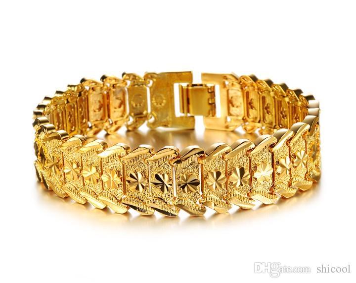 4554650952d 2019 Gold Tone Mens Bracelets Metal Men Luxury Designer Bracelet Gold  Chains For Men Hip Hop Jewelry Pulseras Bracciali From Shicool, $5.3 |  DHgate.Com
