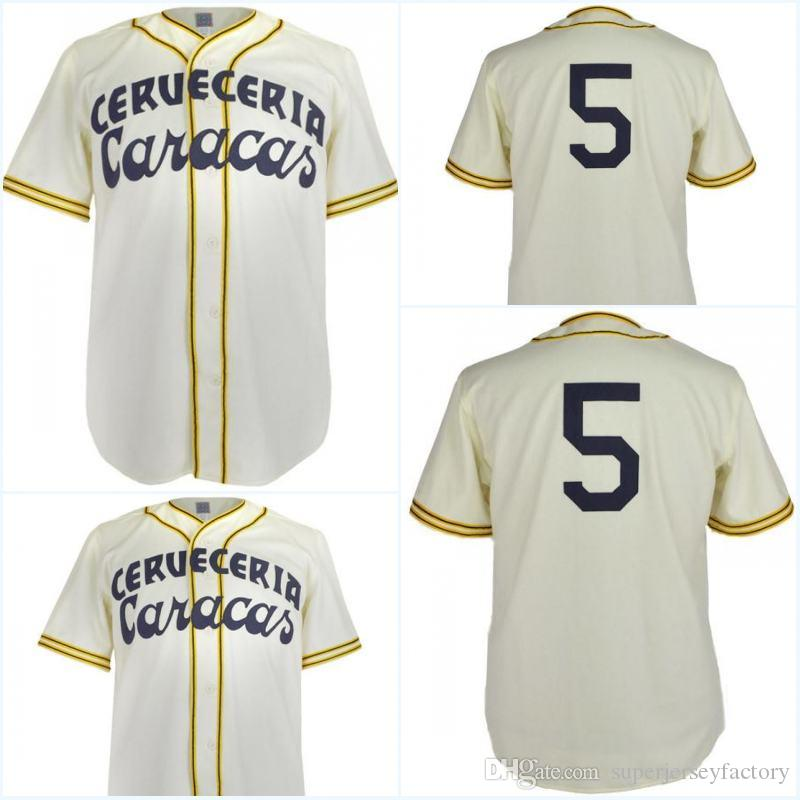 c451e6f3d 2019 Cervezeria Caracas 1952 Home Jersey Any Player Or Number Stitch Sewn  All Stitched High Quality Baseball Jerseys From Superjerseyfactory