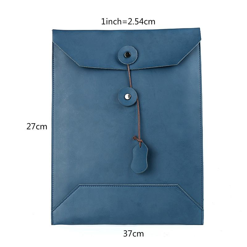 e6986c958bf Moterm 100% Genuine Leather Men Envelope Bag A4 Size Simple Design ...