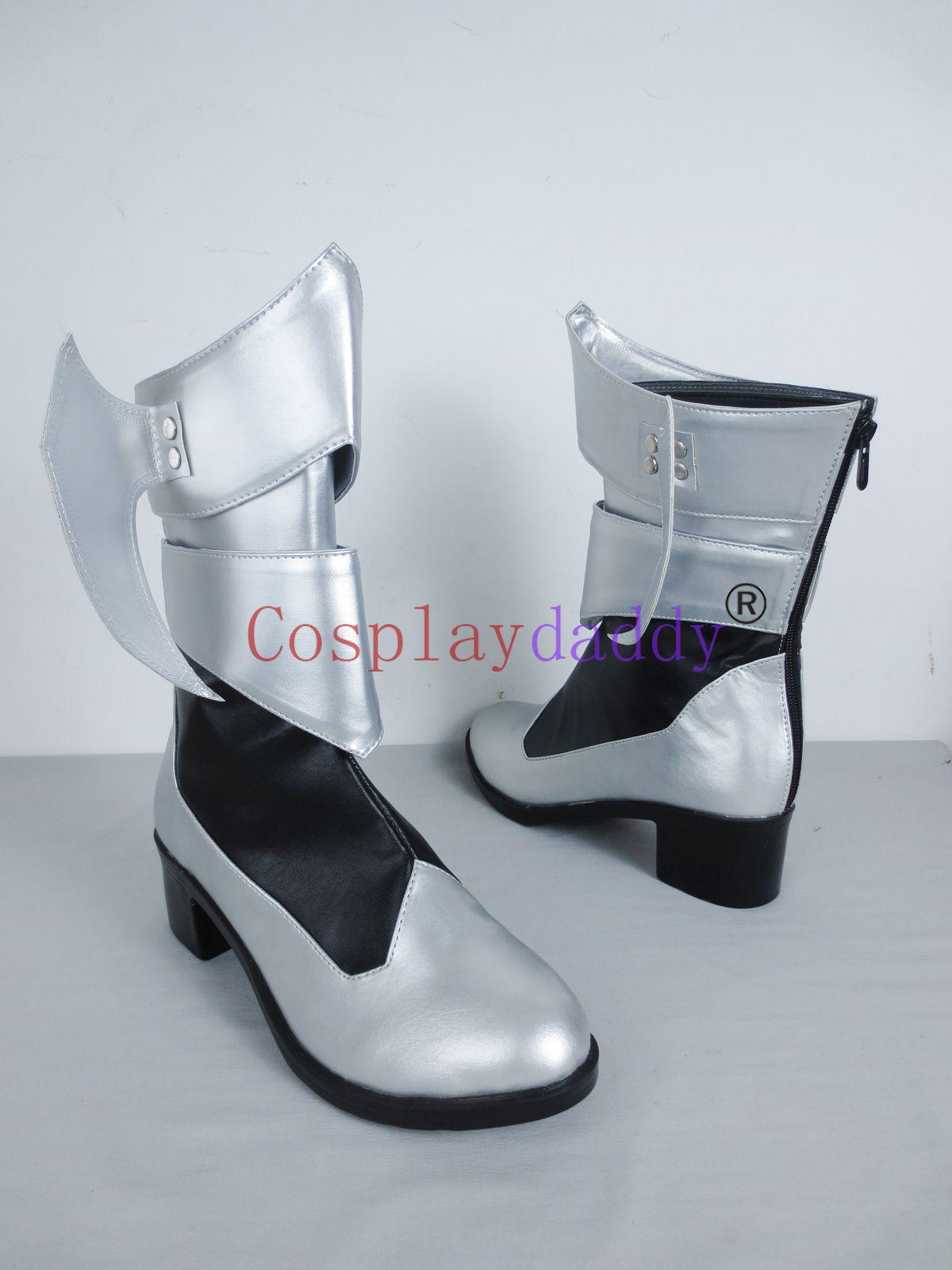 Kingdom Hearts Naissance par Sleep Aqua Long Cosplay Chaussures Bottes C006