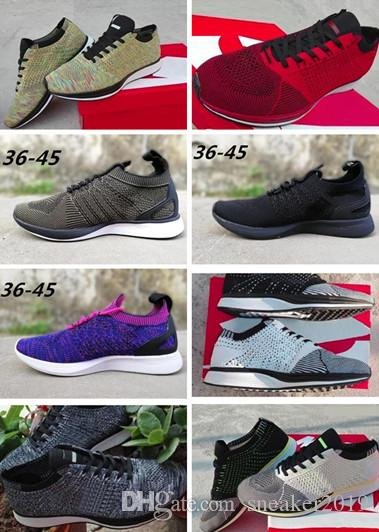 promo code 82f9d 90040 Acheter Nike Roshe Run Free Run 2018 Top Hommes Femmes Casual Fly Racer  Trainer Chukka Noir Rouge Bleu Gris Léger Respirant Marche Sneakers  Chaussures De ...