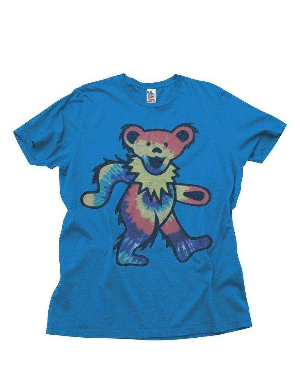 1f7414203 Details Zu Junk Food Grateful Dead Dancing Bear Adult Royal Blue T Shirt  Funny Unisex Casual Gift Daily T Shirts Printable T Shirts From  Lukehappy11, ...