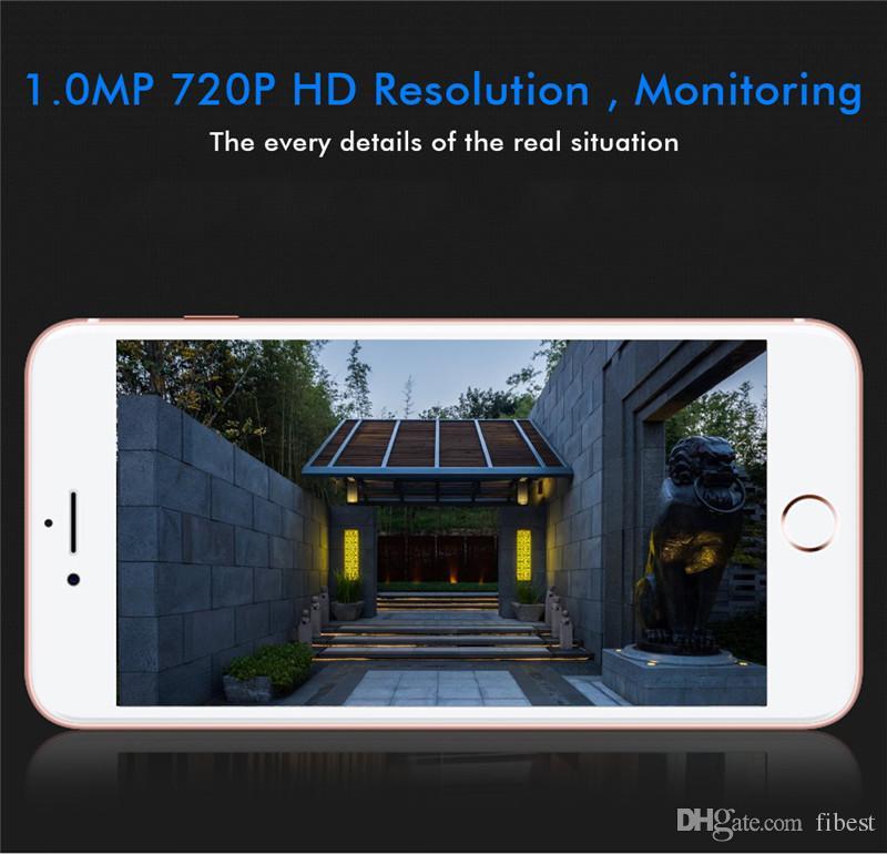 WiFi Video Doorbell HD 720P Wireless Mini Smart Camera Door Bell Ring Alarm Home Phone Intercom APP Control iOS Android