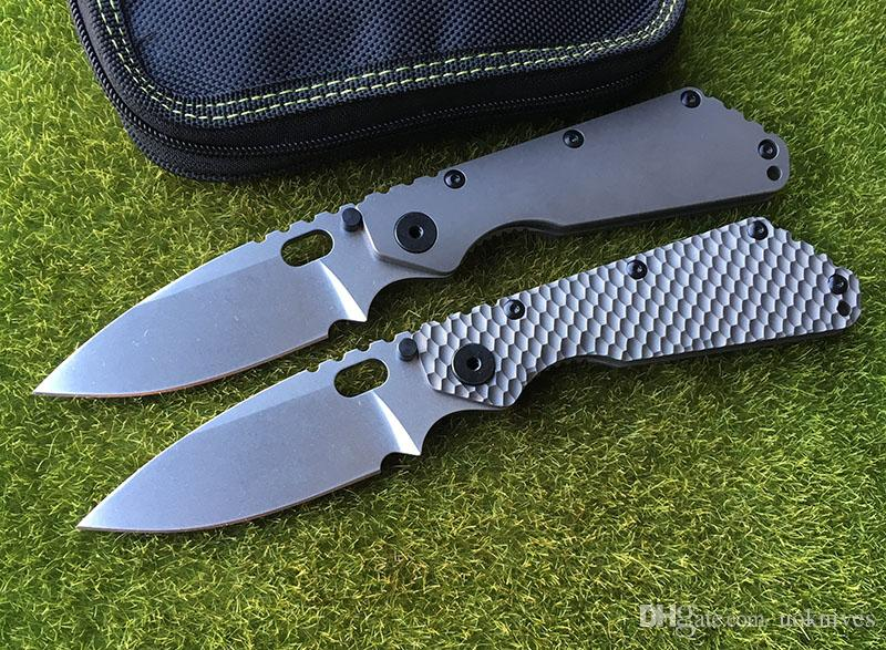 ST OEM SMF Carbon Fiber Titanium Handle D2 Blade Copper Washer Folding Tool Woodworking Outdoor Tool Knife EDC Tools