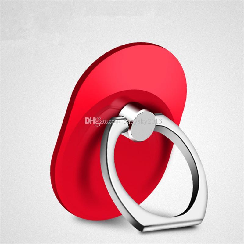 360 Degree Mobile Phone Dedo anel titular stand 360 graus de rotação celular titular para iphone 6 7 8 samsung tablet pc