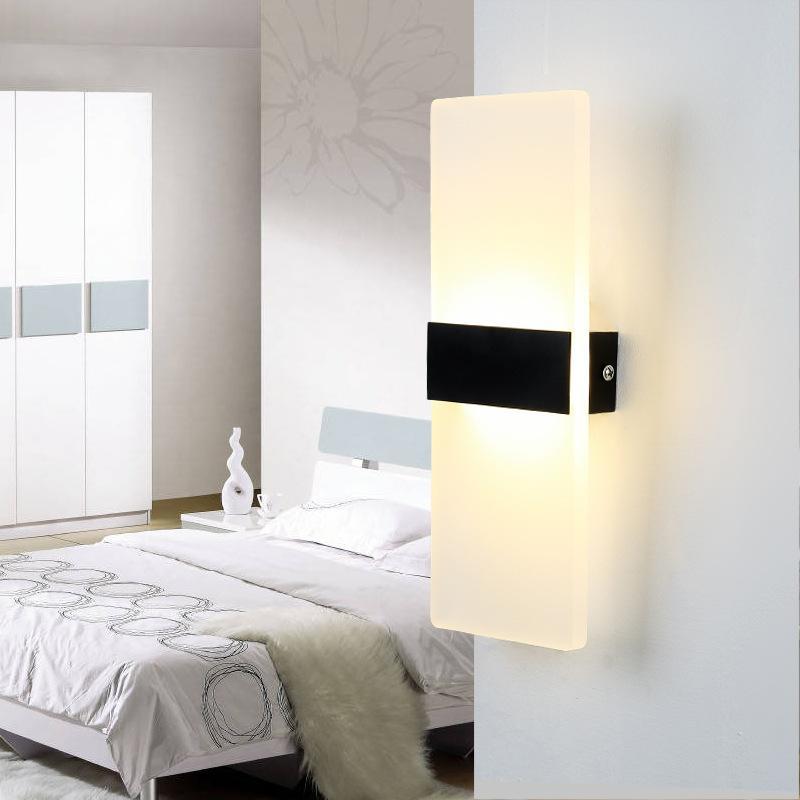 Acheter Chambre À Coucher Moderne Simple Tête De Lit Double Lampe ...