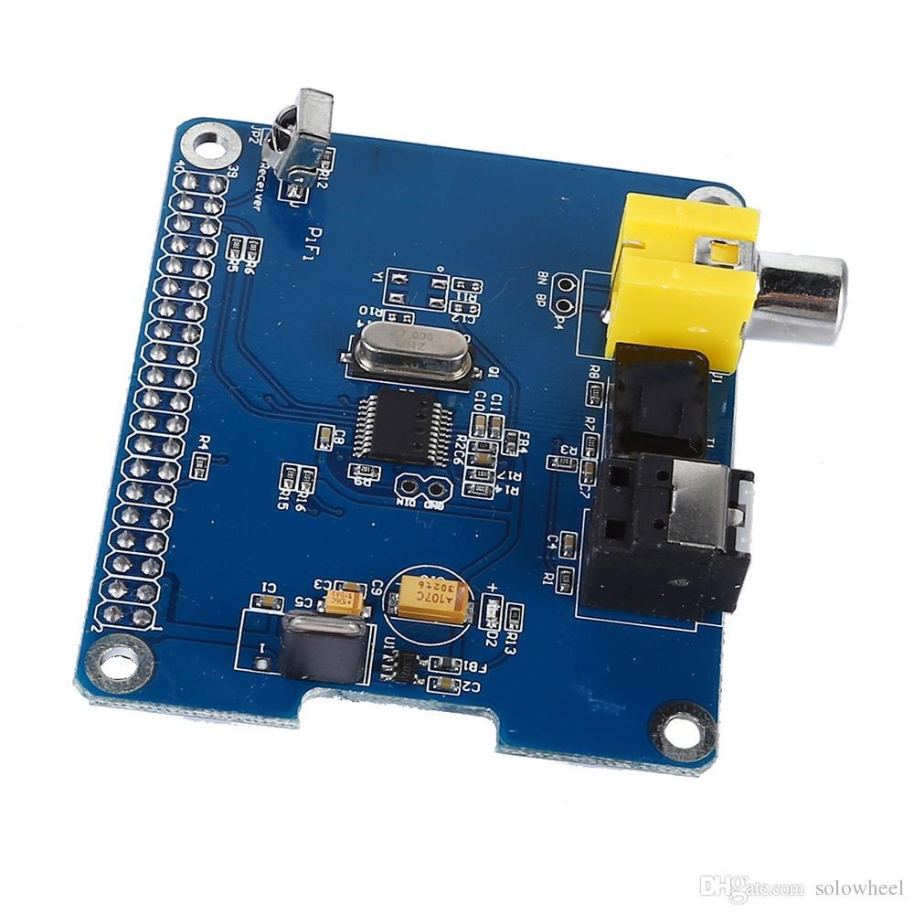 HIFI DiGi+ Digital Sound Card I2S SPDIF Optical Fiber for Raspberry Pi 2  Model B / B+ / A+