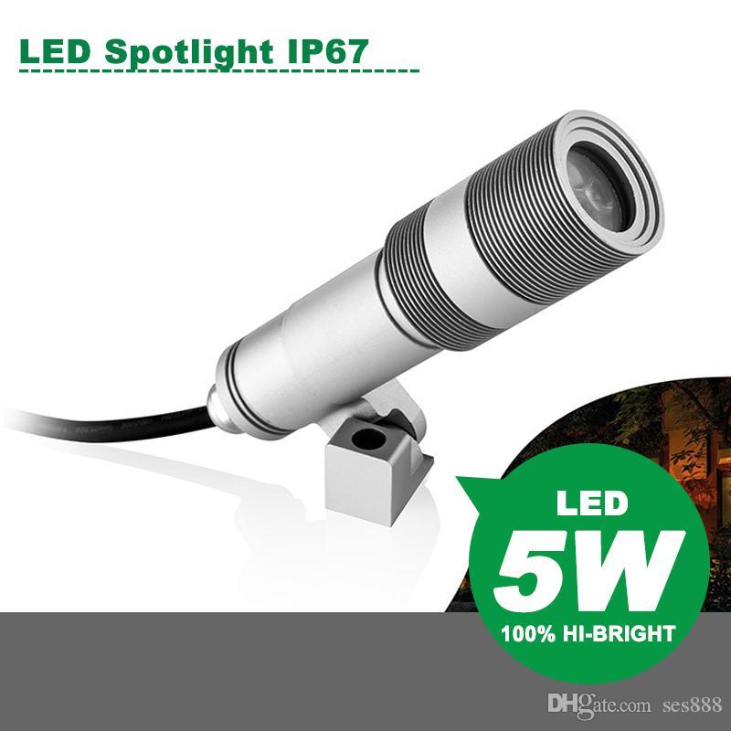 Mini LED Spotlight 5W DC12-24V Spotlight Wall light Garden Light Lawn Lights Energy saving lamp Warm white Nature white Cold white
