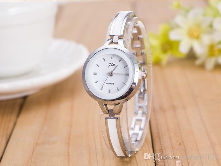 hot sale thin style womens bracelet watch metal plastic glue alloy fashion dress watch leisure quartz ladies cheap wholesale watch a616