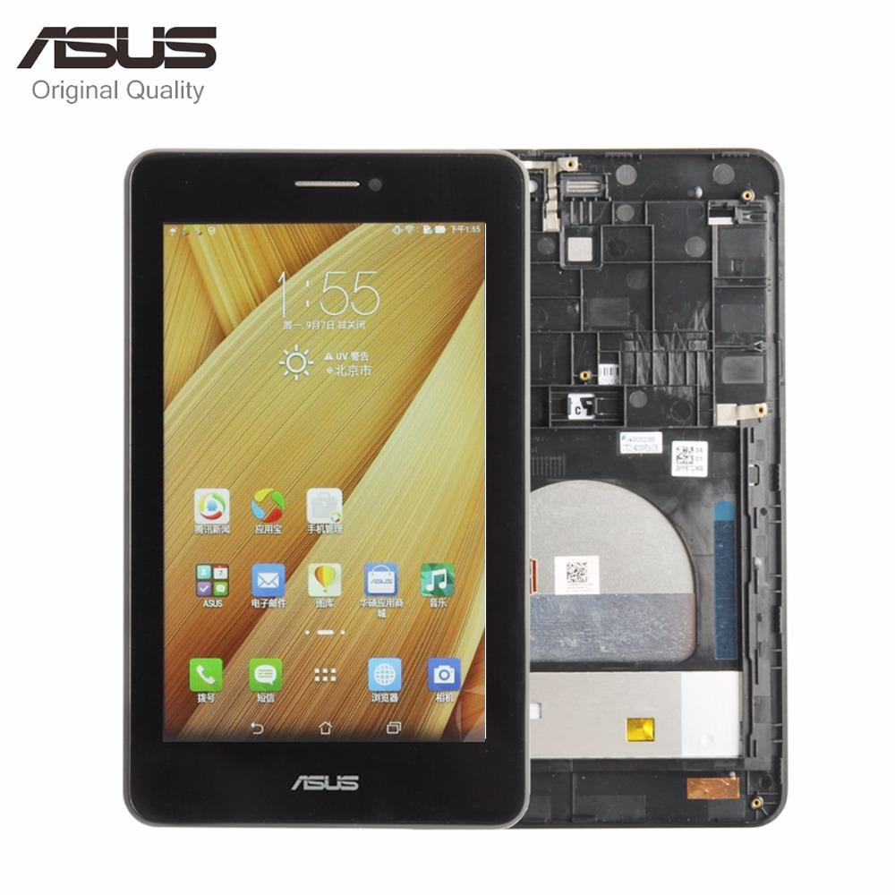 Original Parts For For Asus MeMO Pad HD7 ME175CG ME175 K00Z LCD Display  Matric Touch Screen Digitizer Sensor Assembly with Frame