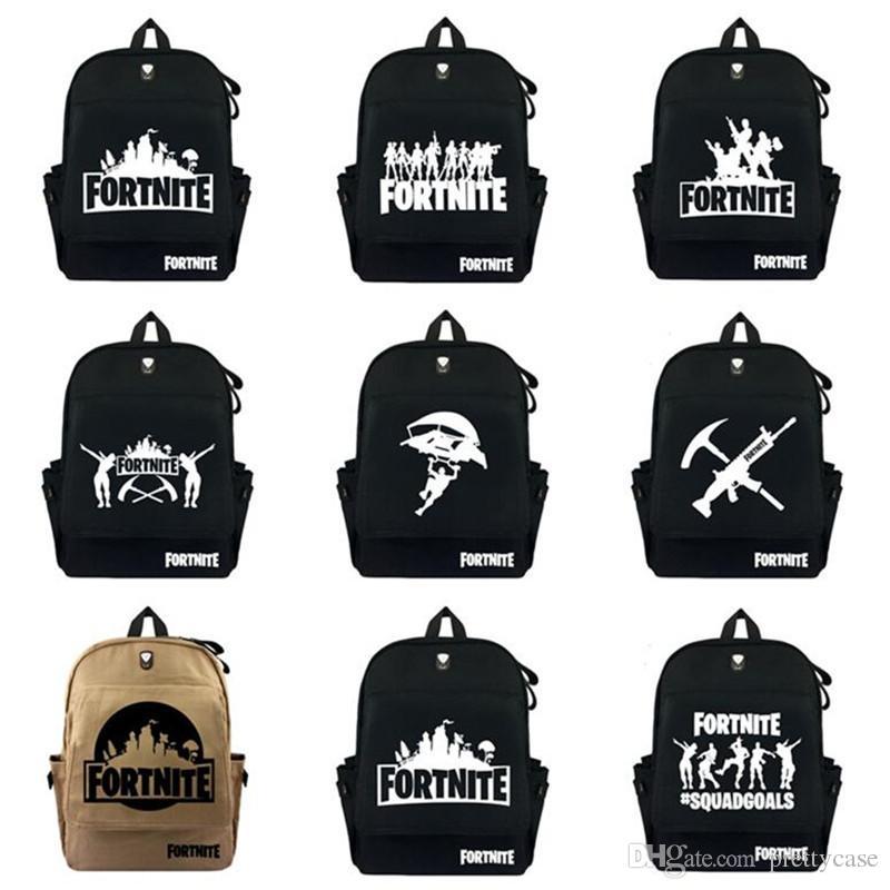 Fortnite Student School Bag Battle Royale Backpack Casual Shoulder