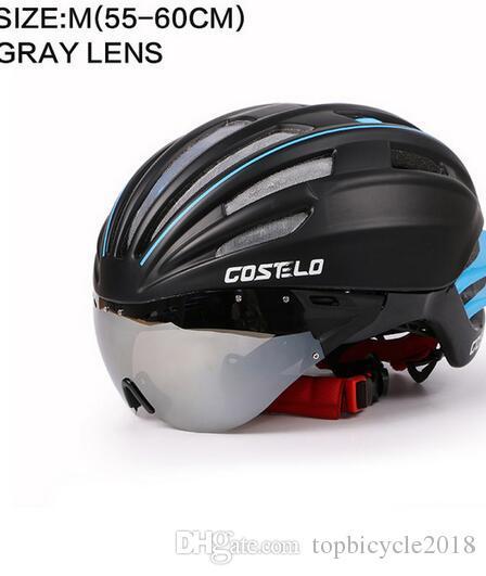 3c201ea62 Compre Costelo Capacete De Ciclismo 4 Cores MTB Mountain Road ...