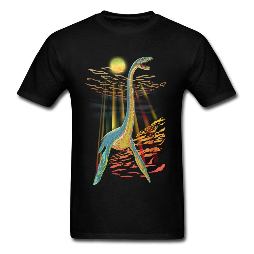 Cool T Shirts For Men Graphic Loch Ness Plesiosaur Custom Ink T