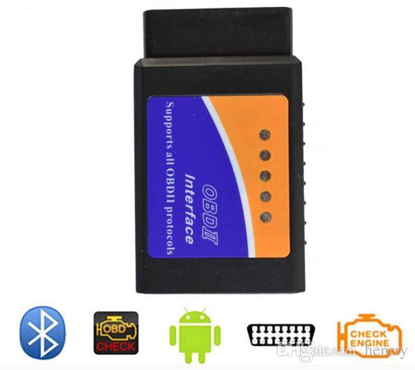 ELM 327 Bluetooth Scanner kann am Mobiltelefon arbeiten Elm327 BT OBDII Scan-Tool Die neueste Version ELM327 Bluetooth