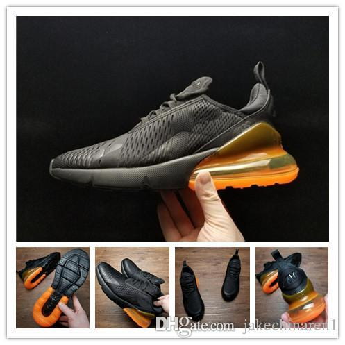 With Original Box High quality 270 Sneakers Mens Running Shoes Men 270 Triple Black Sport Boots Women Sport Shoes Sneakers cheap sale marketable hOReFqcjG