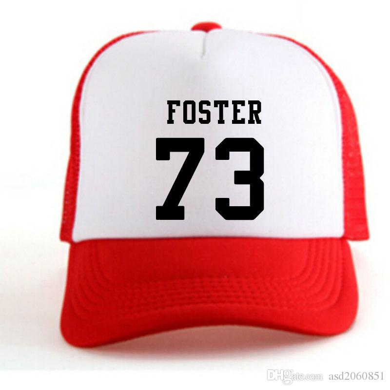 United States Pittsburgh Ramon Foster 73 men Casual youth student boy wild custom made name number photo Unisex Advertising baseball caps