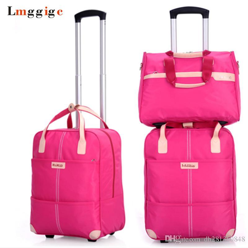 692f7288eddc Women Rolling Luggage Bag Set