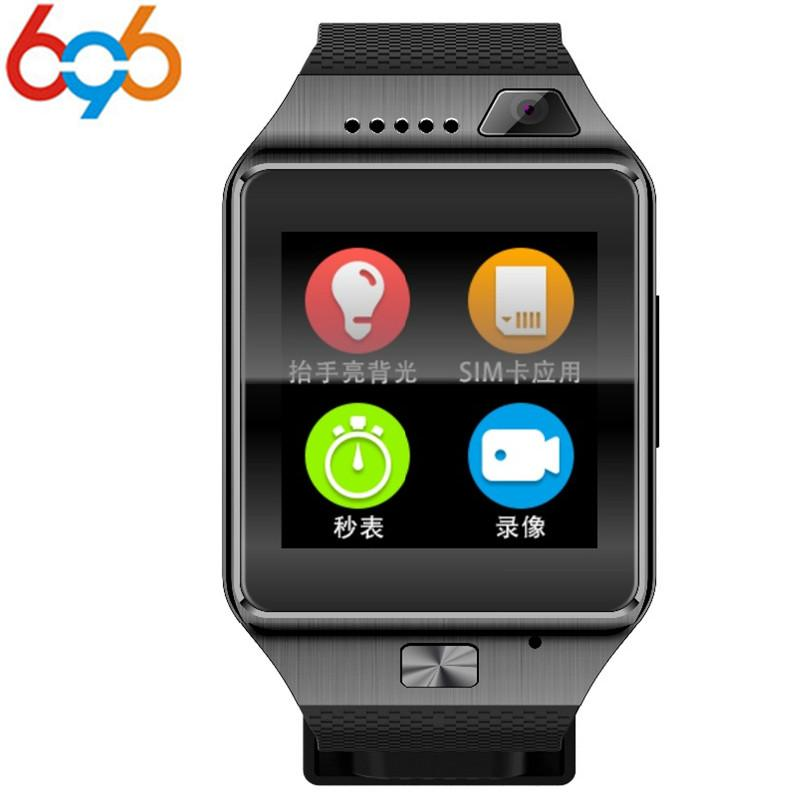 696 DZ09 Plus Smart Watch MTK2502 Relogio Android Smartwatch Phone Call SIM  TF Camera for IOS HUAWEI VS Y1 Q18