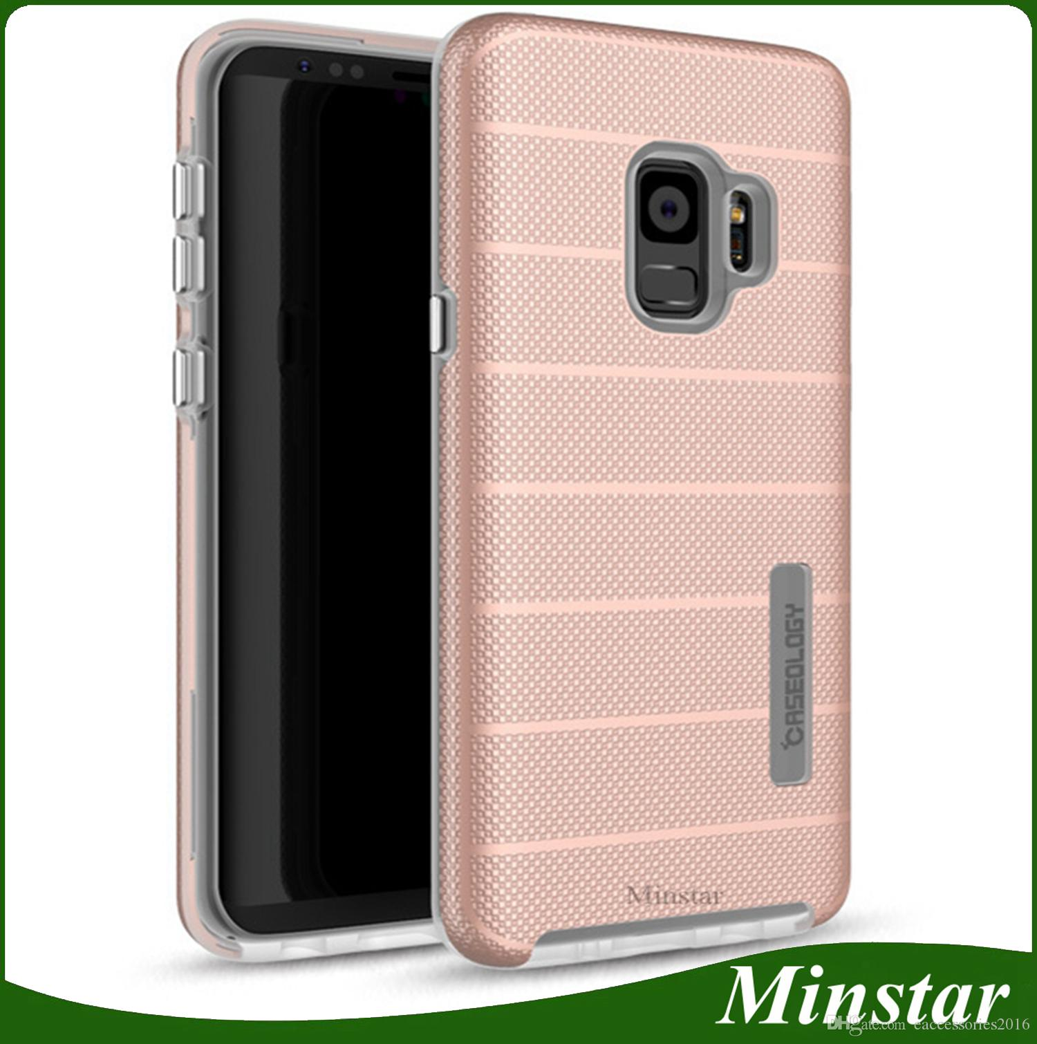 Metro PCS For Samsung Galaxy S9 J7 Prime J3 Prime 2017 Stylo 4 Stylo 3 Plus Aristo 2 K20 Plus Caseology Anti shock Phone Case Hybrid Cover Galaxy J3 Prime