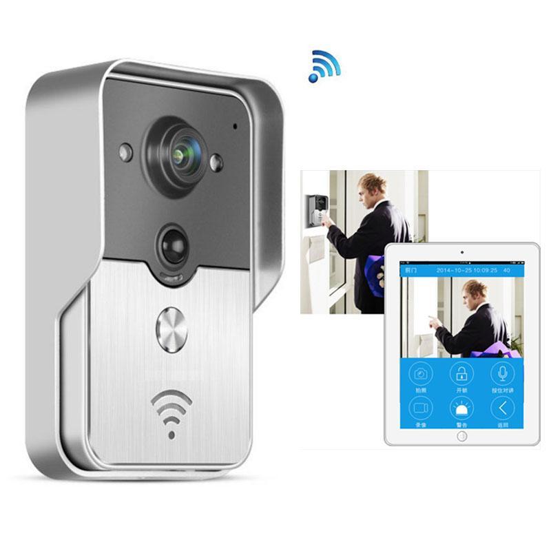 720P IP Wifi Doorbell Camera With Motion Detection Alarm Wireless Video  Intercom Phone Control IP Door Phone Wireless Door Bell