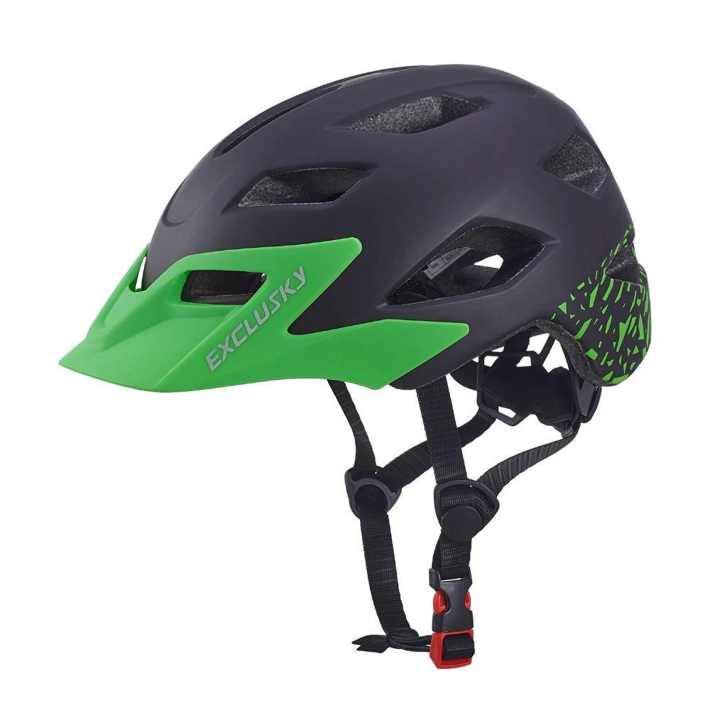 6f579075f1 Acheter Exclusky Kids Bike Casques Enfants Casques De Cyclisme Garçons  Filles Patinage / Vélo Avec Visière Amovible 50 57cm Age 5 13 De $30.25 Du  Shinyday ...
