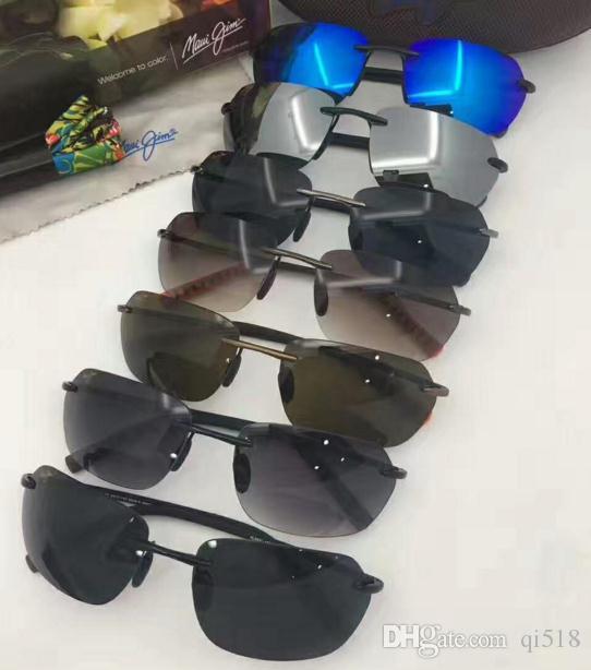 0a17488e4f Popular Brand MauiJim MJ 743 Polarized Lens Sun Glasses MJ743 Sunglasses  Men Women MJ Sports Super Light Glasses For Driving Sunglasses Frame Online  with ...
