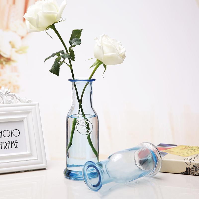 Modern Fashion Multicolor Glass Vase Glass Containers Flower Vases