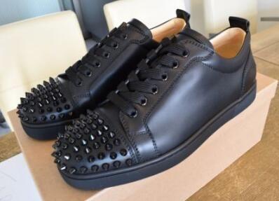 de661ec51cf Discount Top Quality Originals Shoes Red Bottom Studs Sneaker Black ...