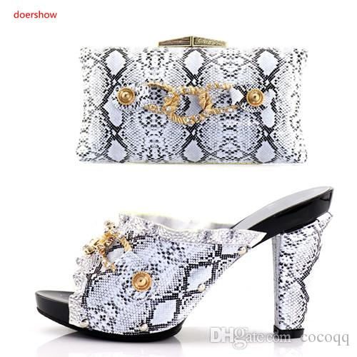 bd850d5c7518 Wedding Shoe And Bag Set Women Shoes And Bag Set In Italy Design ...