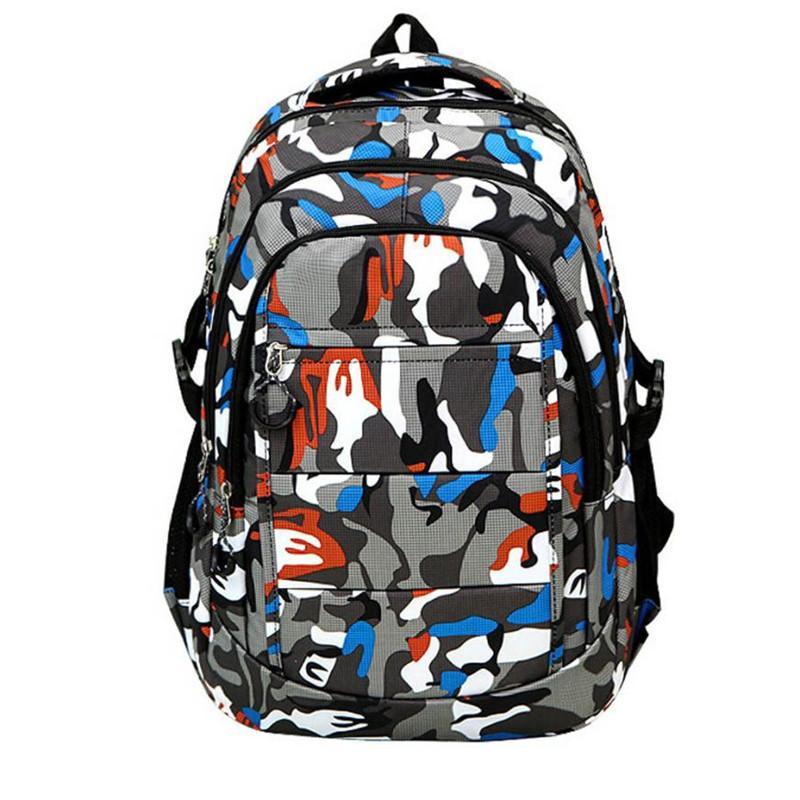 1b7b85ba4637 Boys Girls Men Nylon School Bags Shoulder Bookbags School Satchel Travel  Backpack For Children Sac A Dos Kelty Backpack Camo Backpack From Swiscafe