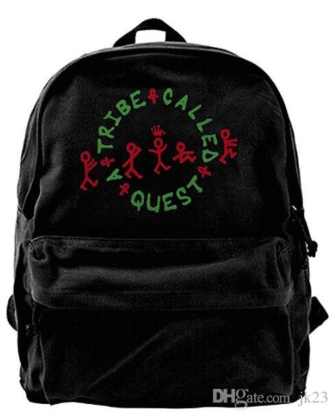 A Tribe Called Quest Logo Classic Canvas Shoulder Bag Backpack Black  Messenger Bags Leather Backpack From Jk23 8cbb475691044