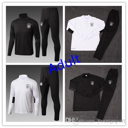 b844f9a52 Newest 2018 World Cup Germany National Football Jacket Tracksuit 18 ...