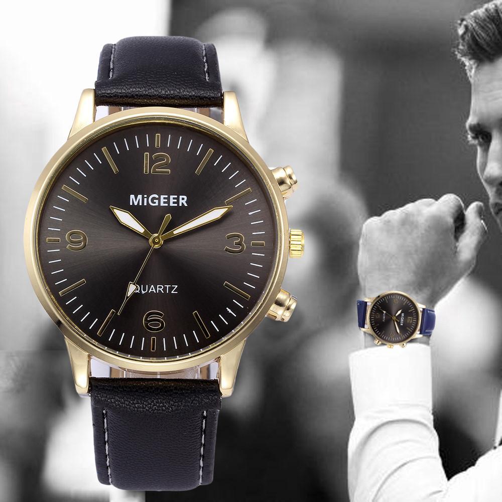 4b9ac4ec7a6 Compre 2018 Relógios De Alta Qualidade Homens Moda Casual Business Retro De  Quartzo Relógio De Pulso Da Marca De Luxo Esporte Relogio Masculino Digital  2018 ...