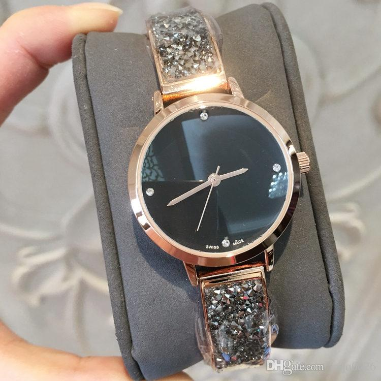 2019 New Model Fashion Luxury Women Watch With Diamond rose gold Special Design Relojes De Marca Mujer Lady Dress Watch Quartz drop shipping