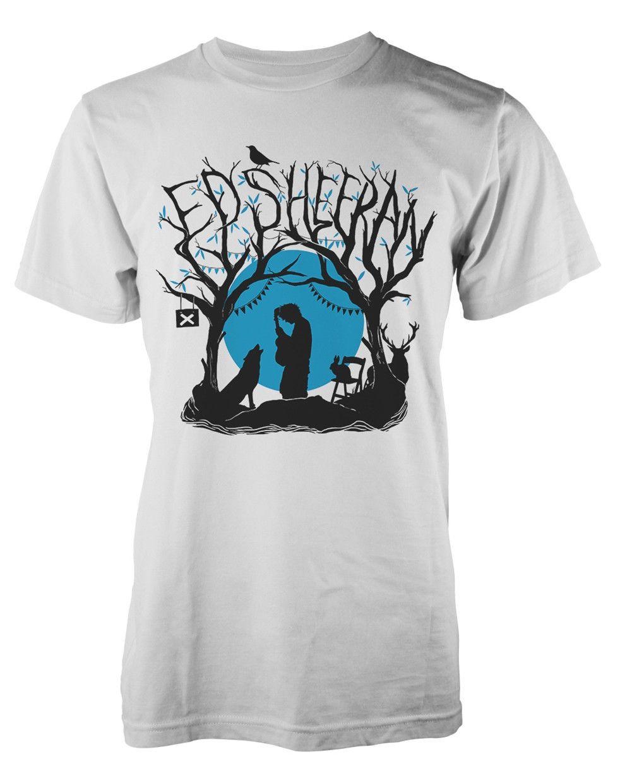 32d499753a Ed Sheeran  Woodland Gig  T Shirt NEW   OFFICIAL! Denim Shirts Design T  Shirts From Jackiegreen