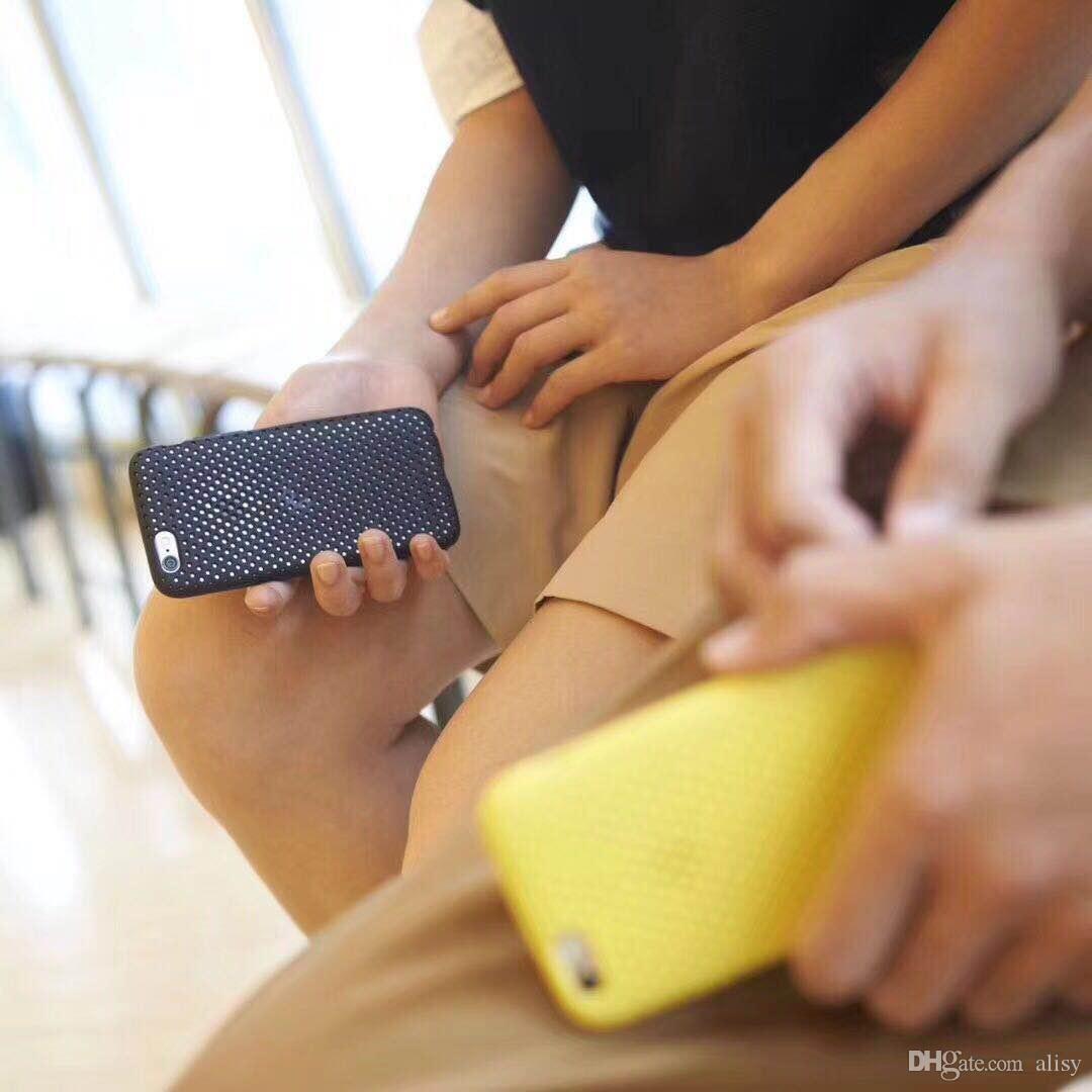 اعتصامات الساخنة سيليكون القضية لفون 8 فون 8 حالة سيليكون لينة للحصول على اي فون 7 دي إتش إل الحرة