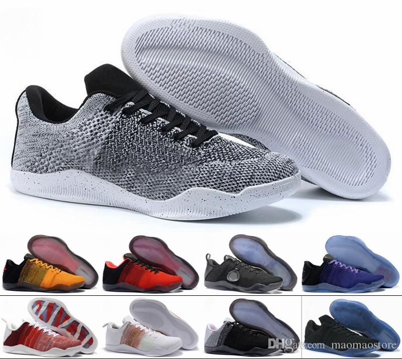 63d21d39eee7 2019 KOBE 11 ELITE LOW Women Basketball Shoes Athletics Sneakers KB 11  Womens Sport Outdoor High Quality From Maomaostore
