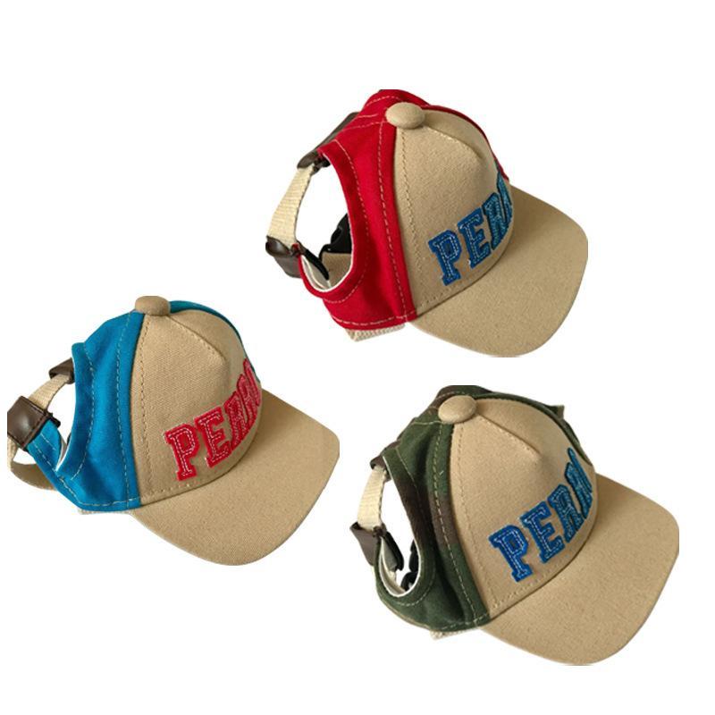 Compre Sombrero Del Perro Del Verano Para Perros Pequeños Cachorro Gato  Viaje Sombreros Para El Sol Sombrero Visera Exterior Lona Transpirable  Mascota Gorra ... 6ec6a2a2b7d