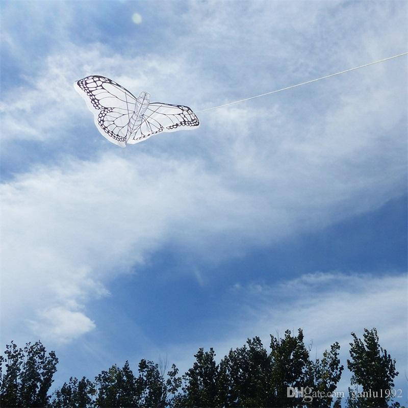 Educational Graffiti Kite Painting For Children DIY Bamboo Skeleton Kites With Thirty Meters Wire Plate Hot Sale 4 7yf W