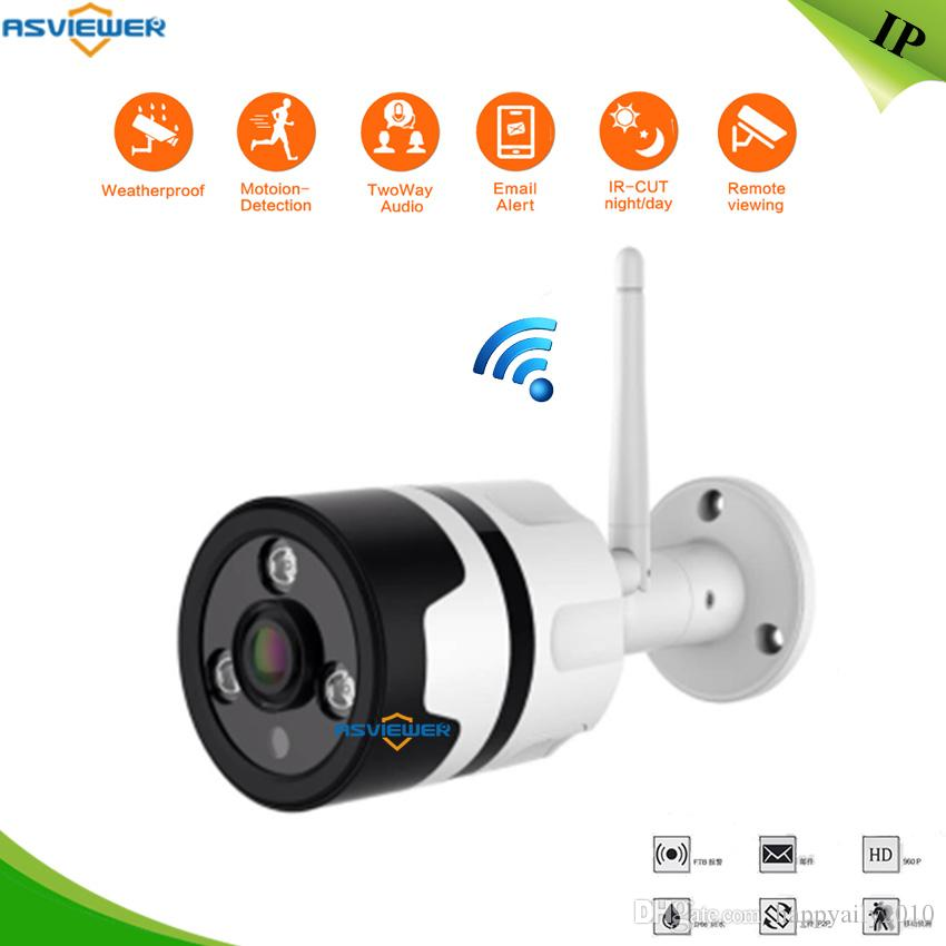 HD 960P Wifi Camera IP Outdoor 360 Degree Fisheye Security Camera 1 3MP P2P  IR Network Waterproof IR Bullet Camera AS-IP8314W