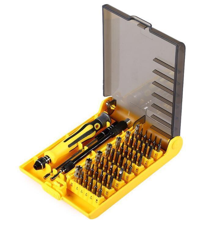 Neues freies Verschiffen! 45 in 1 Multifunktions-magnetischer Präzisions-Torx-Schraubenzieher-Satz-Reparatur-Werkzeug-Installationssatz für Zelle ich Telefon PSP Xbox 360