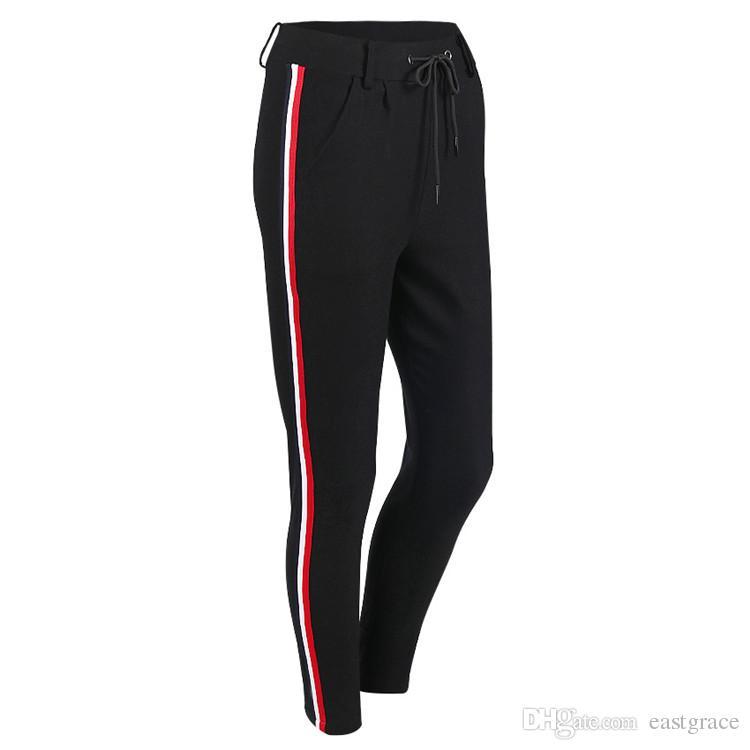Mode féminine Tight Sportwear Jambières Légères Haute Élastique Mince Sports Pantalon De Yoga Fitness Courir Long Pantalon Legging