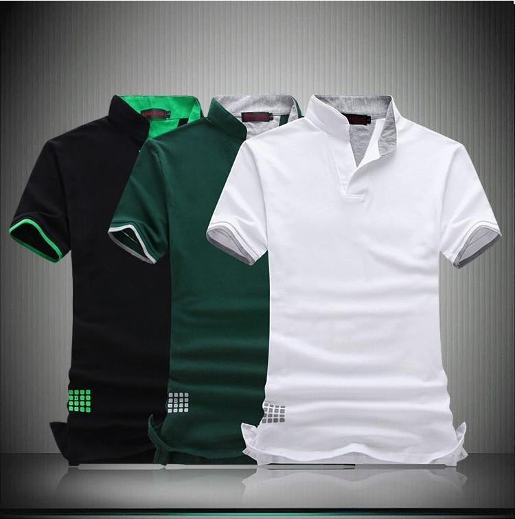2019 Short Sleeve Polo Shirt Men Polo Cotton Camisa Polo Masculina Man Plus  Size 7xl 6xl 5xl 4xl Xxxl Xxl M From Taigao eefa06194fb44