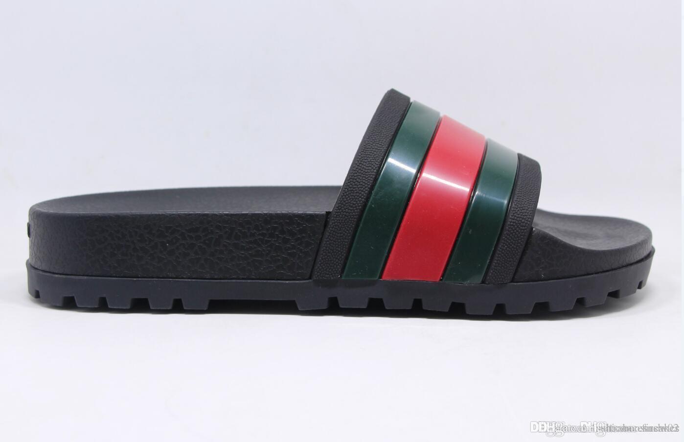 5c54d7e1d Fashion Sandals Slippers for Men Women Luxury Designer Flower ...