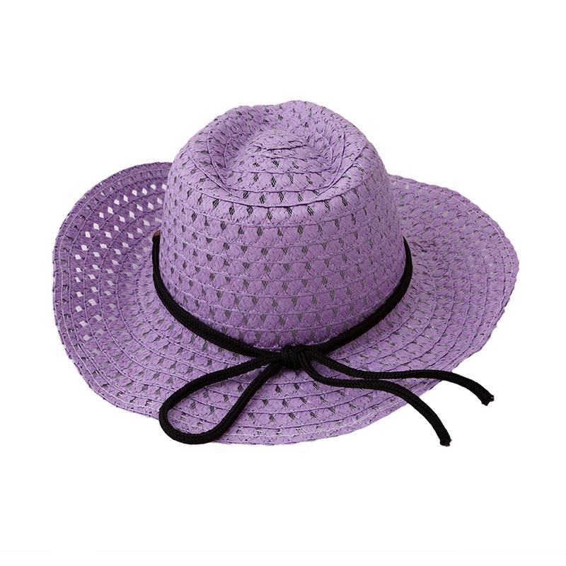ab8107c705c3b Compre Sombreros De Verano Para Niño Playa Gorras De Paja Niños Top Trilby Sombreros  Para El Sol Sombrero De Visera Gorra De Playa Para Niños De 2 A 7 Años ...