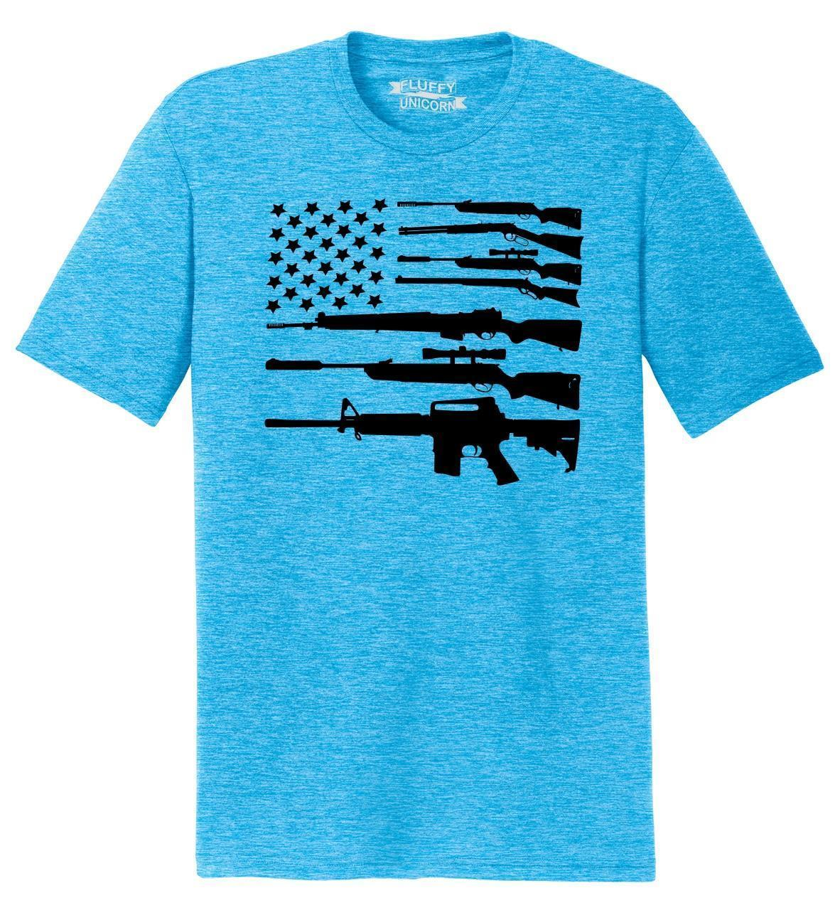 8f6829f5d9 Mens Gun American Flag Shirt Patriotic USA Pride Tee Tri Blend Tee Guns  Funny Unisex Casual Tee Gift Best Tee Shirts T Shirts Cheap From  Elite_direct, ...