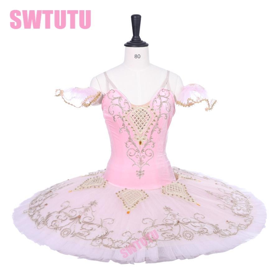 4478cc0f4 2019 Nutcracker Sugar Plum Fairy Tutu Ballet Adult Professional Ballet Tutu  Pink Pancake Skirt Classical Costumes BT9229 From Smotthwatch, $332.27    DHgate.