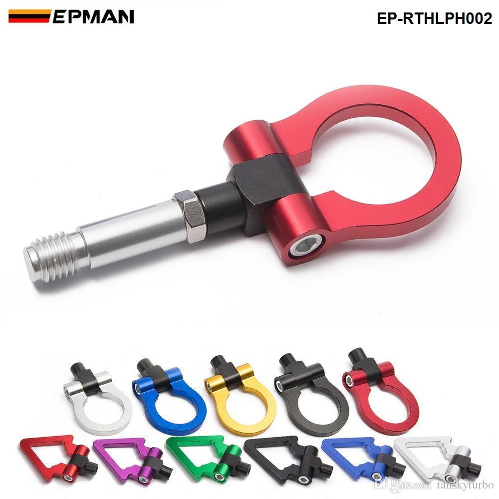 EPMAN Racing Jdm Aluminium Forge Anhängerkupplung vorne hinten Für Honda Fit 2009 EP-RTHLPH002