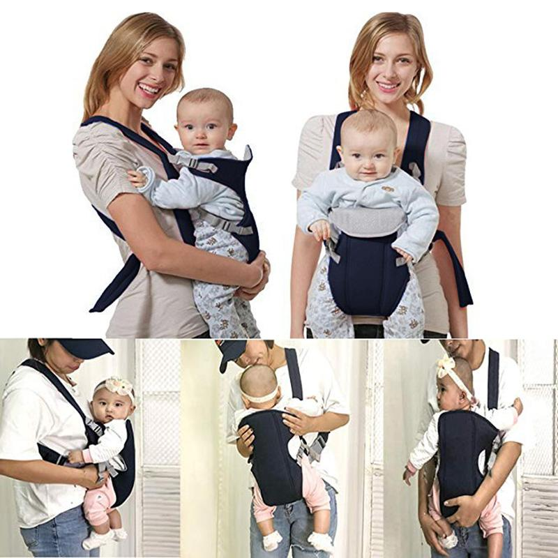 8f7d1e53482 2019 2 30 Months Breathable Front Facing Baby Carrier Comfortable Sling  Backpack Pouch Wrap Baby Kangaroo Adjustable Safety Carrier From Jamani3